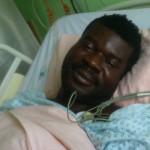 KC in Hospital